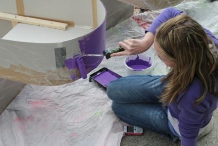 youth art & community arts street parde workshops