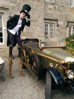Steampunk Ireland , themed entertainers