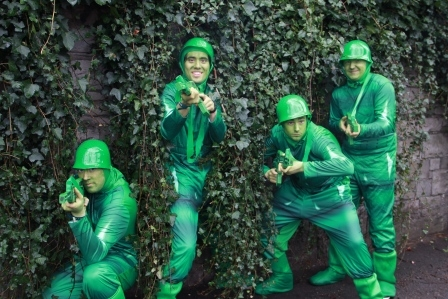 plastic soldier themed enetratiners, Parades Ireland