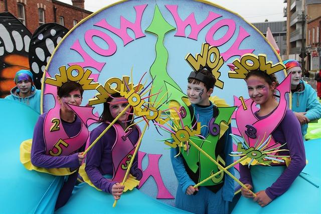Saint Patrick's parade 2015 Ireland, Wow O Clock