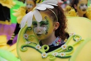 Saint Patrick's parade Ireland, In The garden