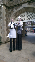 Chefs on Stilts, entertainers Ireland