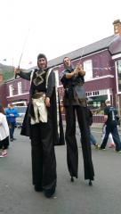 Medieval stilts walkers Ireland