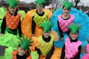Saint Patrick's parade Ireland , Moore St Market