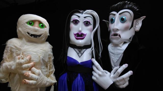 Street entertainers Ireland, halloween