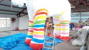 inflatable art